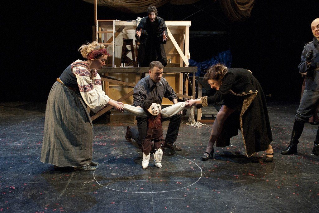 """an analysis of the caucasian chalk a play by bertolt brecht 03-02-2018 sample by elijah ntongai """"during political strife, it is the common man who suffers most"""" basing your argument on bertolt brecht's play the caucasian chalk circle justify the truth of this statement."""